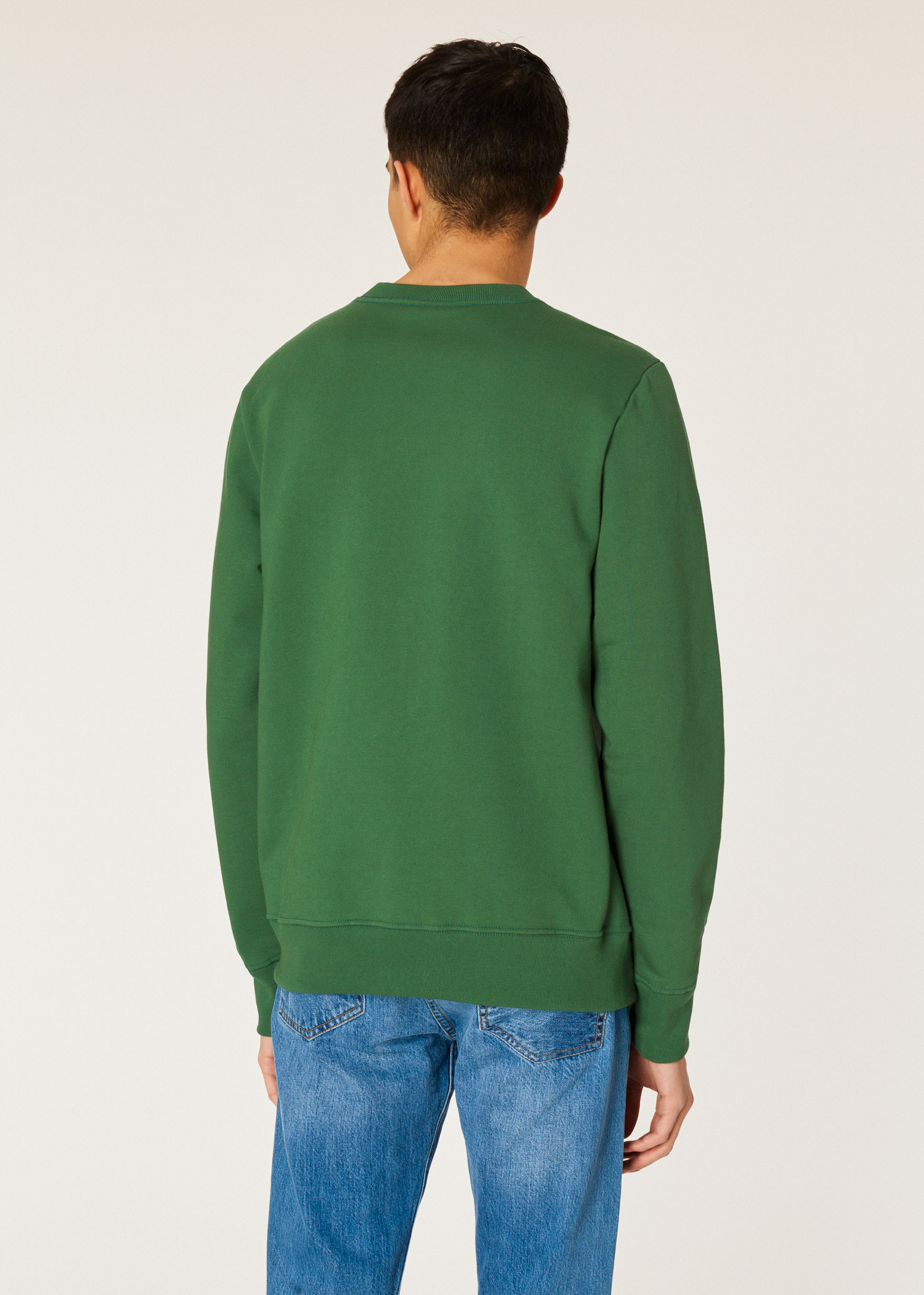 Forêt Bio Paul Homme Sweatshirt Zèbre Logo Vert En Coton Smith 0wE8q86dx