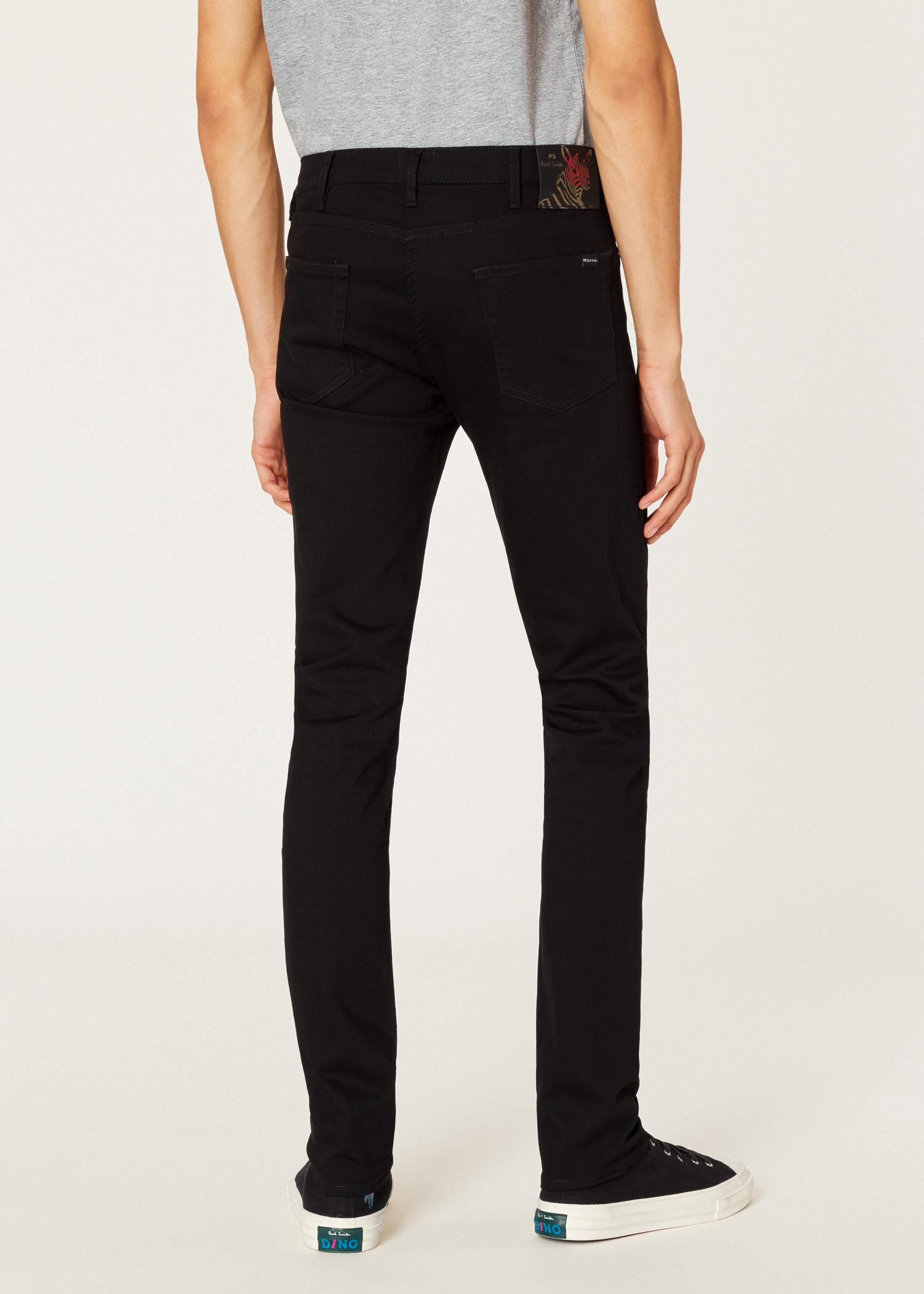 'black Denim Jeans Asia Smith Fit Stretch' Men's Skinny Paul qI8xwnpX