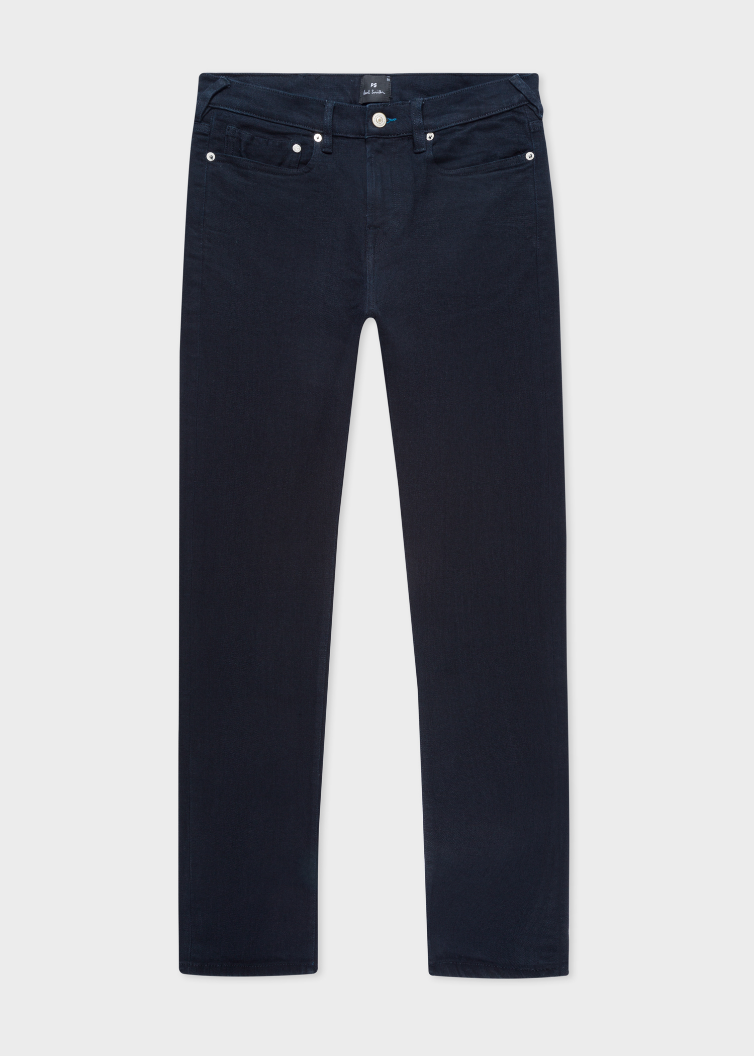 969715ac72a7 Men's Dark Navy Skinny-Fit 'Blue/Black Reflex' Jeans - Paul Smith Asia
