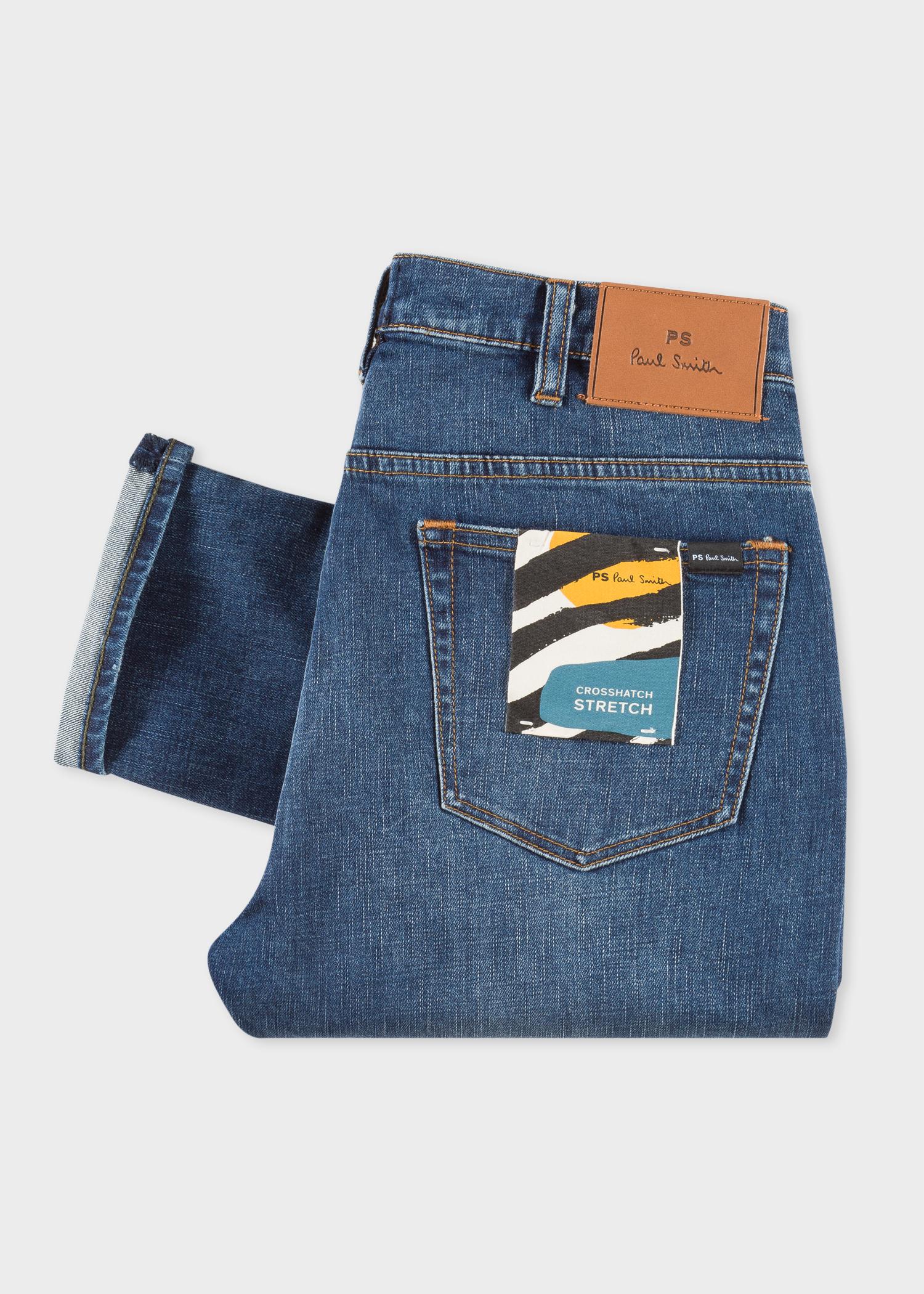 'crosshatch Stretch' Slim Men's Wash Antique 11 8oz Fit Paul Jeans AB7IwOq