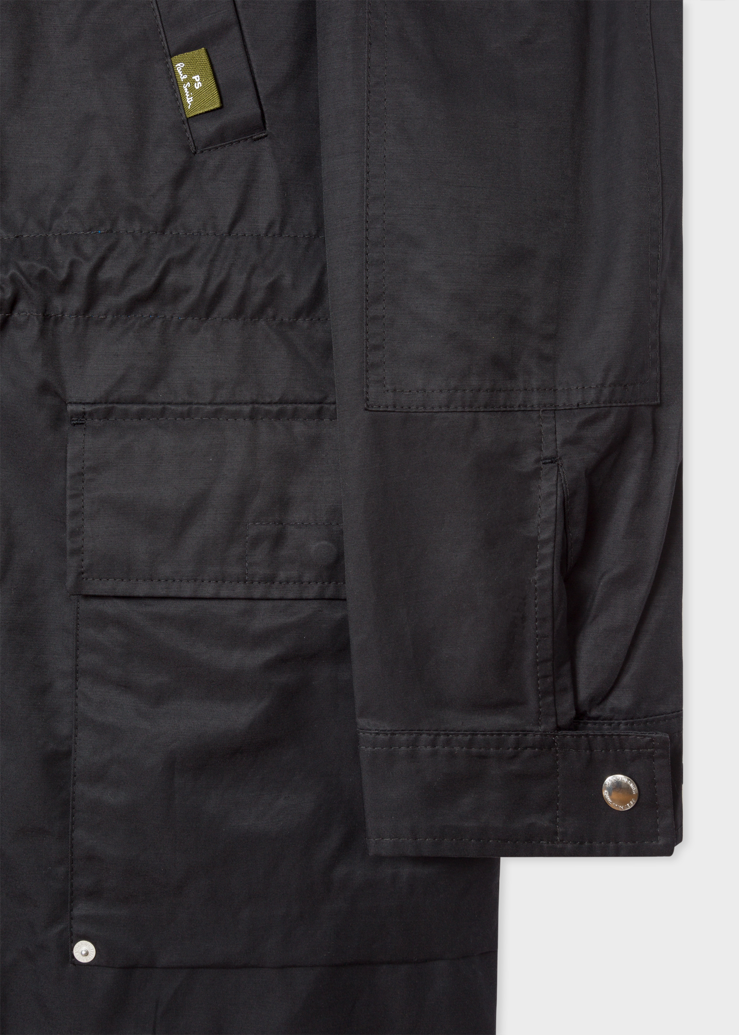 d21752dd2 Men's Black 2-In-1 Cotton-Blend Parka