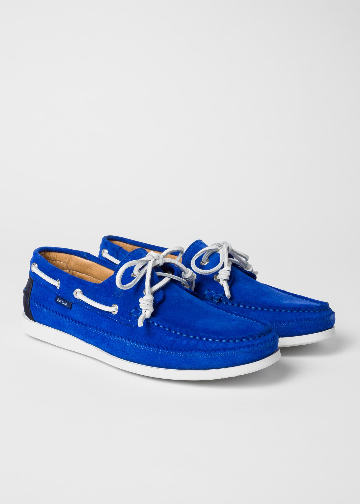 Bleu Cobalt Bateau 'archer' En Cuir Suédé Chaussures BeWdCxor