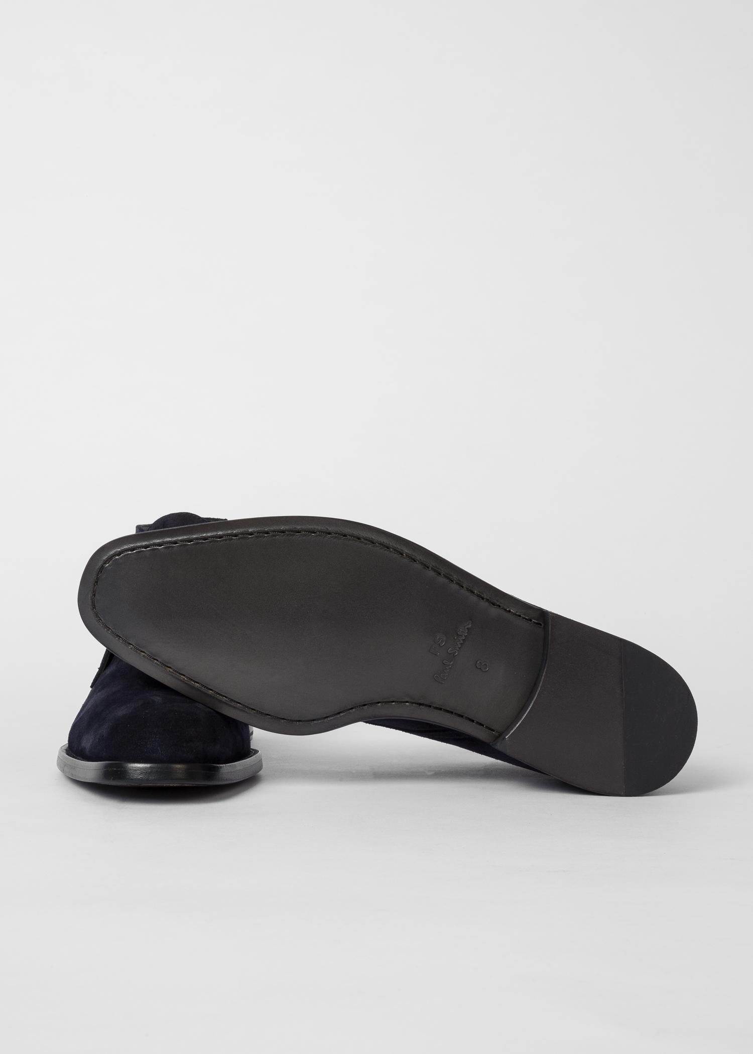 Men's Dark Navy Suede 'Arni' Chukka Boots