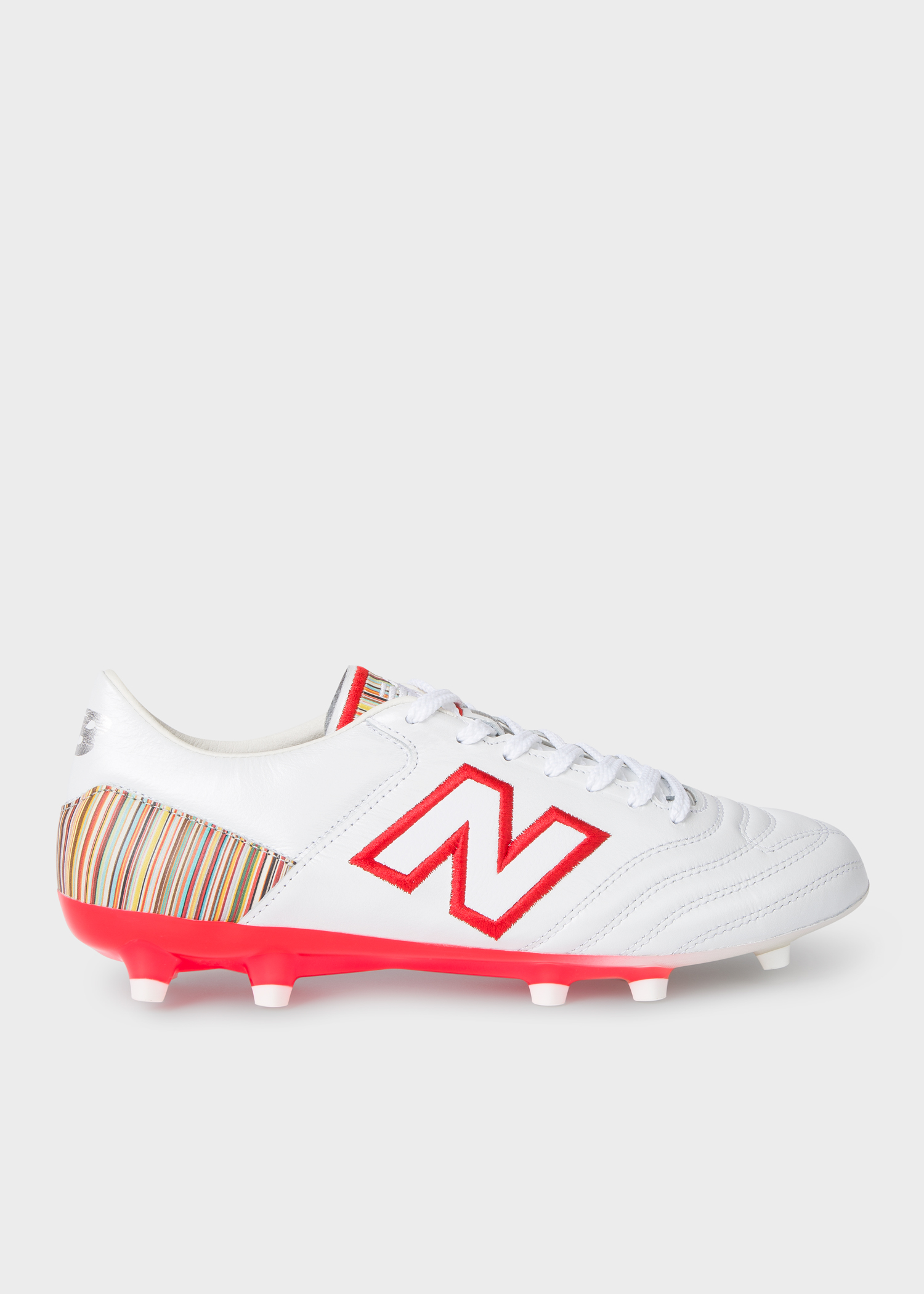 87d3df6681e New Balance + Paul Smith - Men's White MiUK-One Football Boots ...