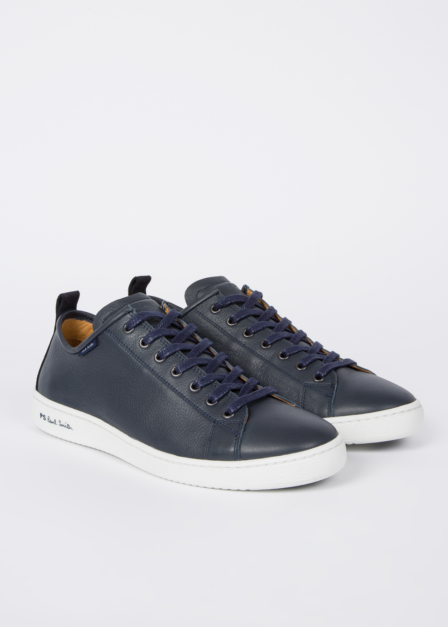 Dark Navy Men's 'miyata' Sneakers Leather Calf CrhQtsd