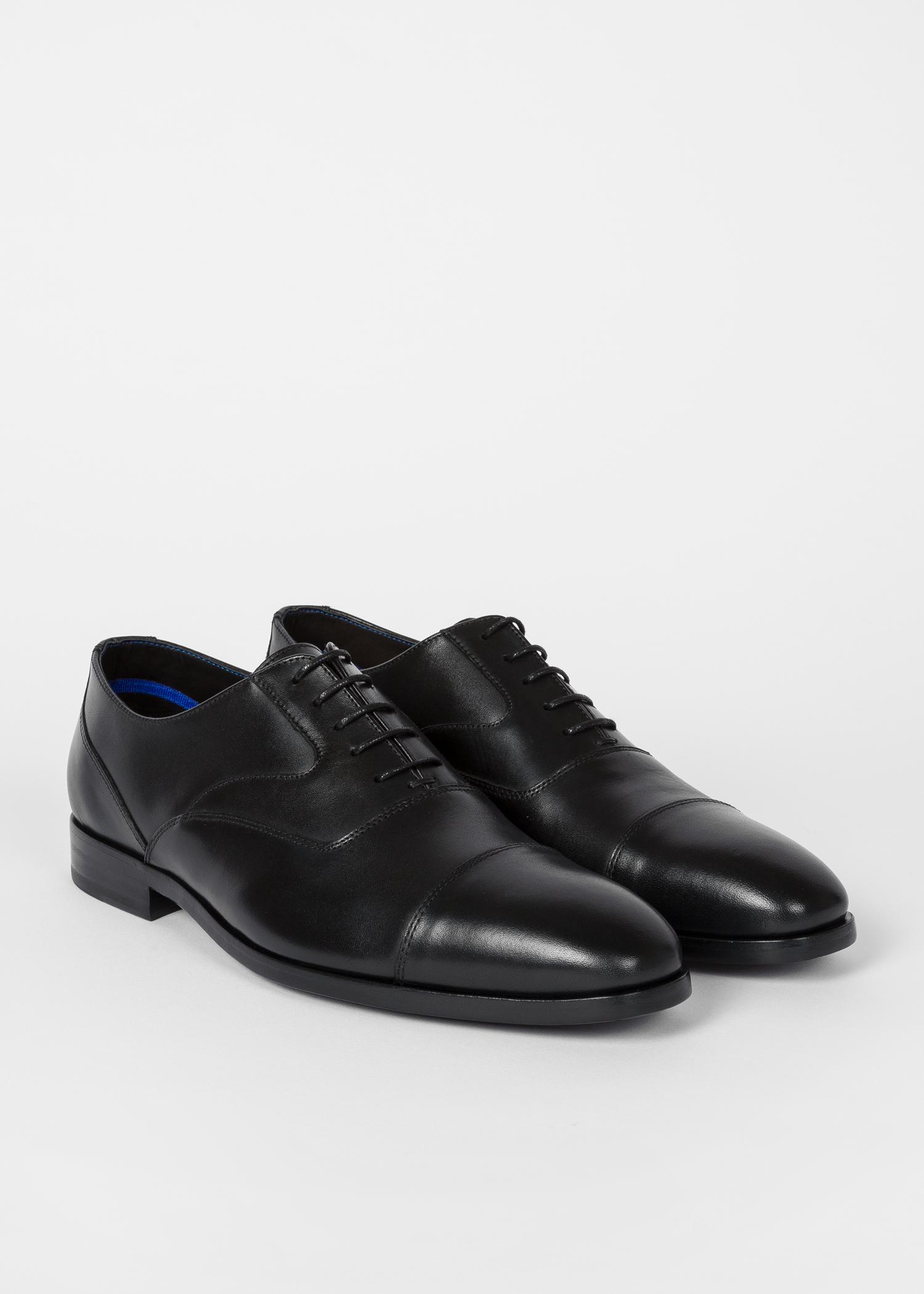 Black Paul Shoes Oxford Smith Men's Leather 'tompkins' EYbDH2eW9I