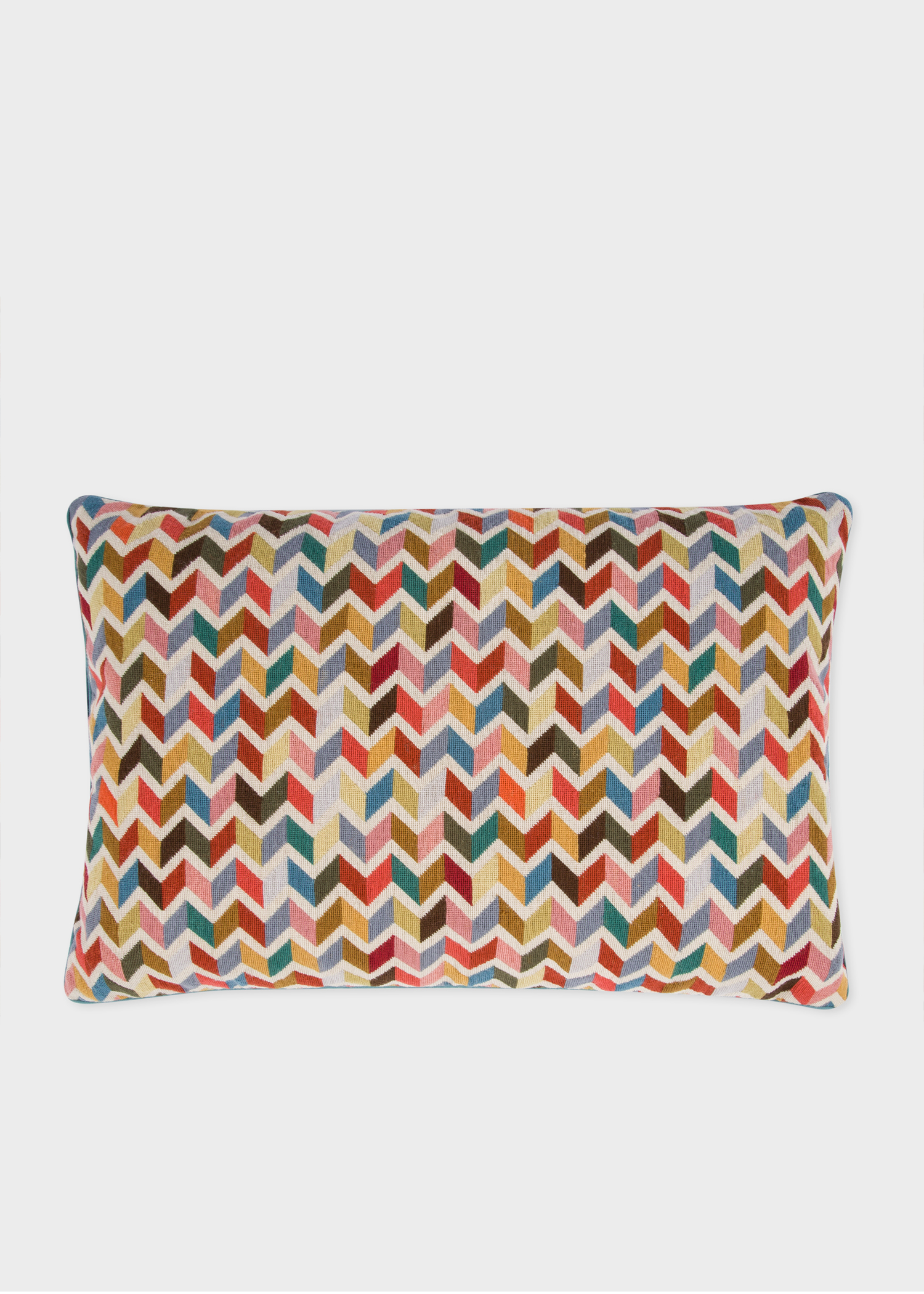 Paul Smith For The Rug Company Multi Coloured Zig Zag