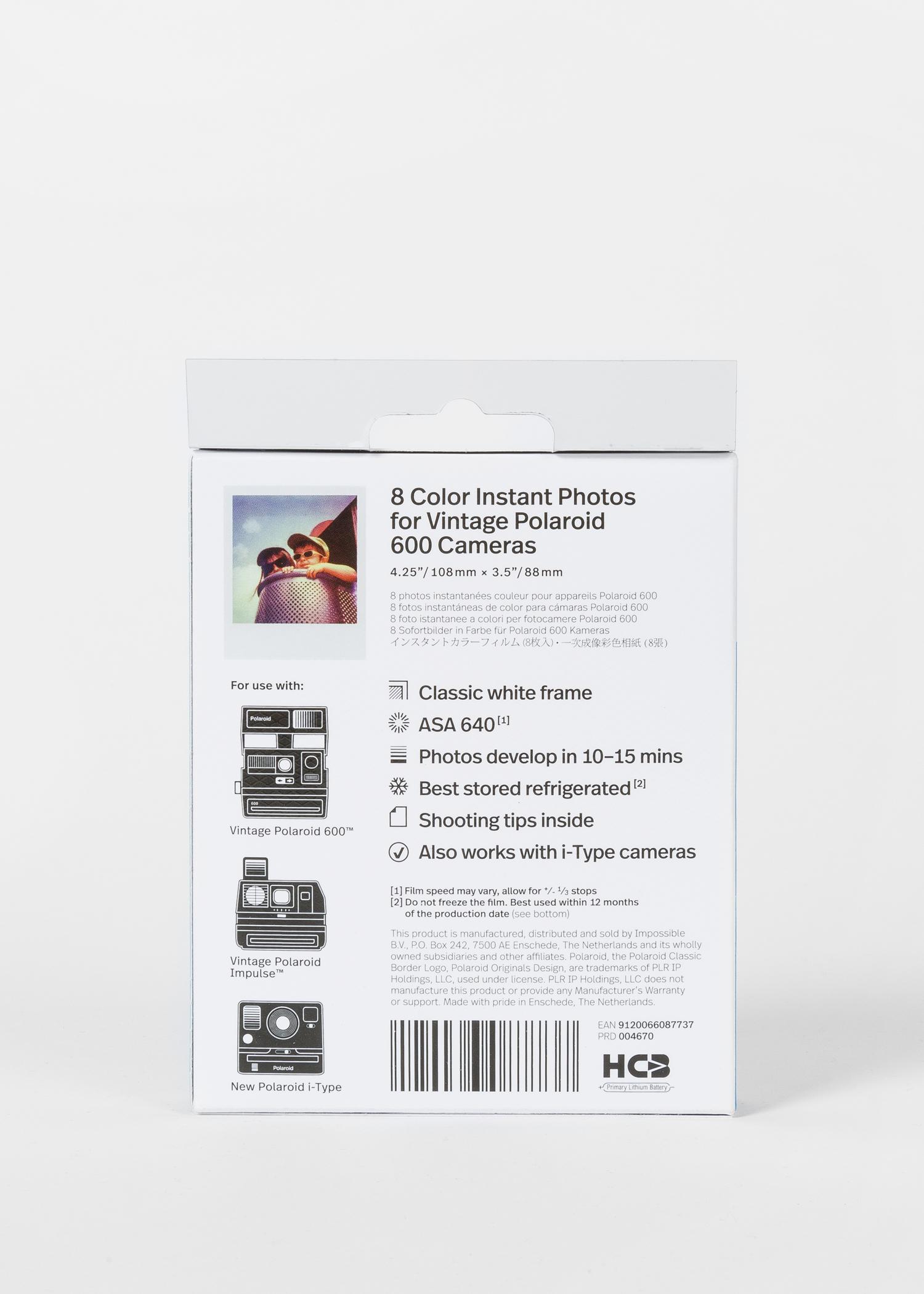 Polaroid - Film Couleur Pour Appareil 600   i-Type - Paul Smith Francais e61f55cf48b0