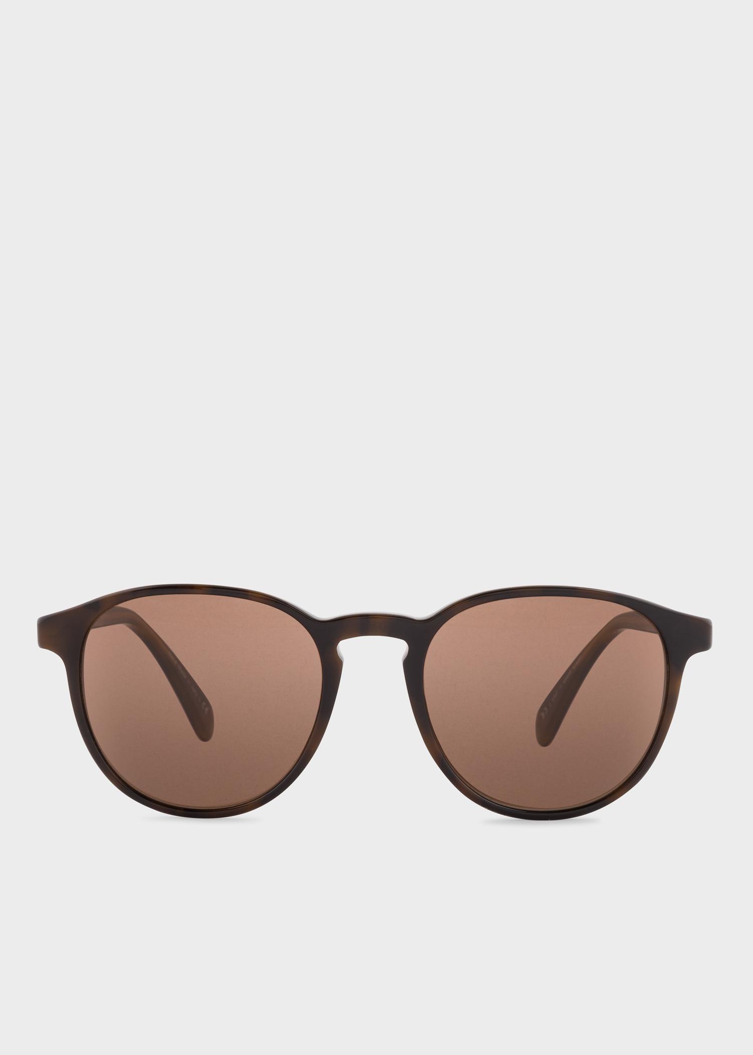 91c002805 Brown 'Mayall' Sunglasses - Paul Smith Europe
