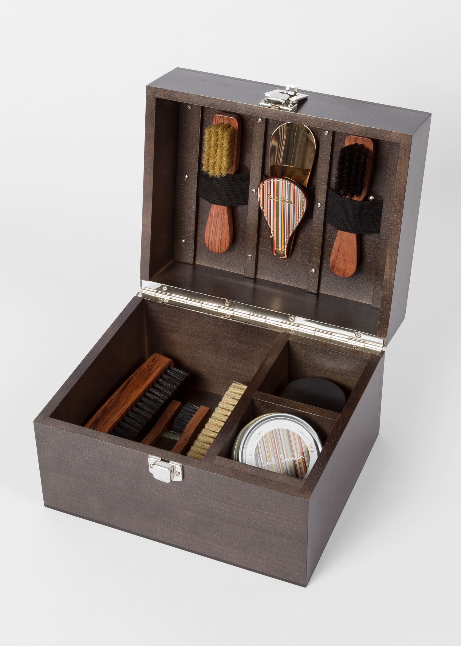 Luxury Wooden Shoe Care Kit Paul Smith