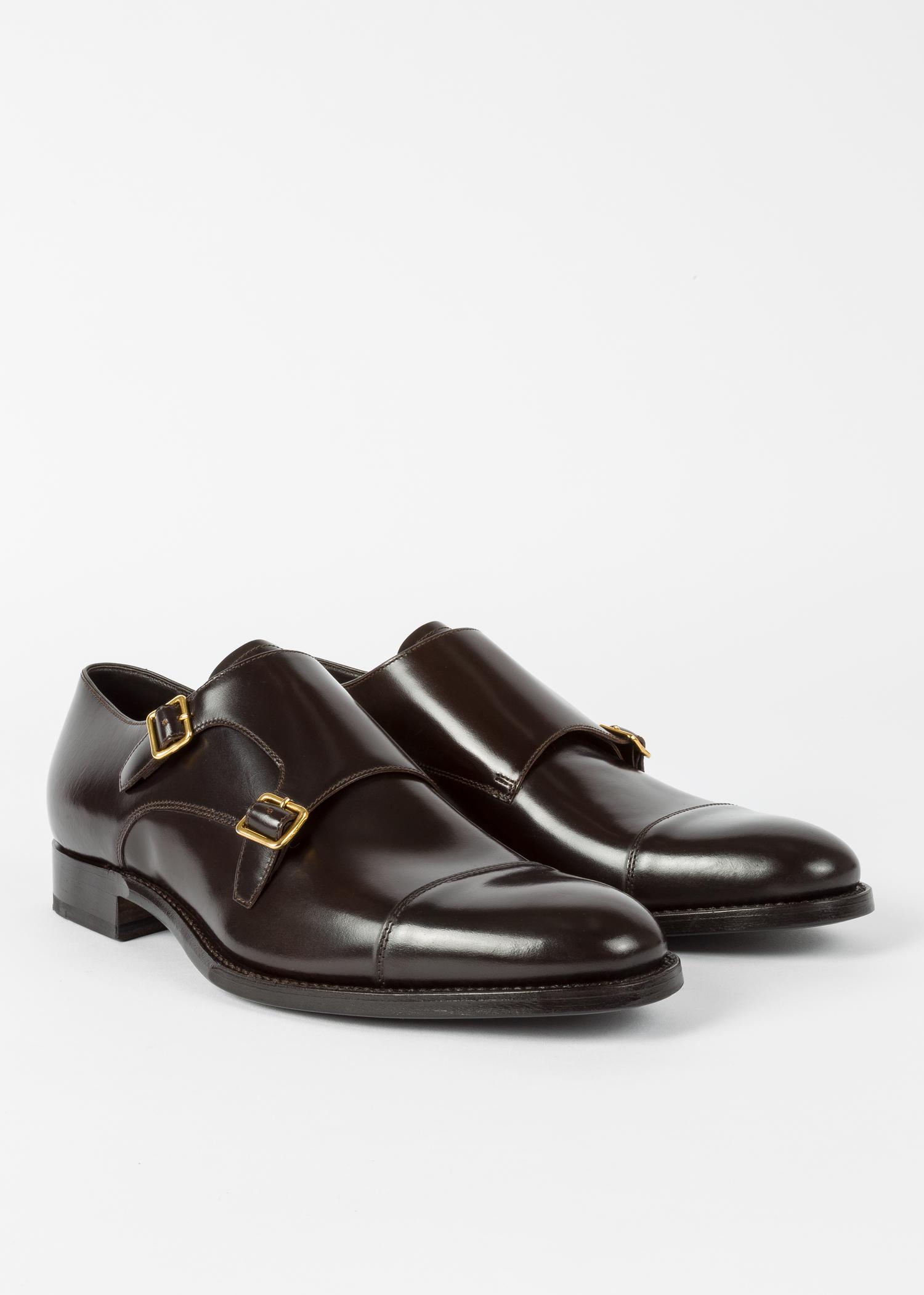chaussures homme 39 albemarle 39 double boucle marron fonc en. Black Bedroom Furniture Sets. Home Design Ideas