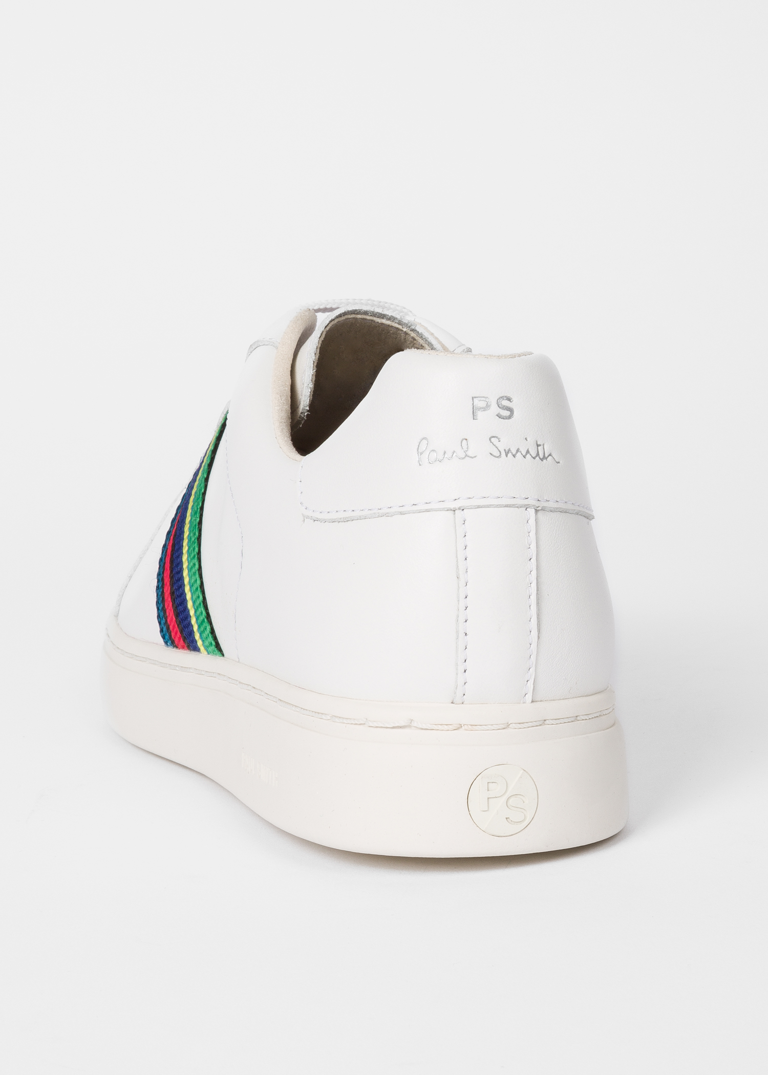2c900cc5a8c Men's White Calf Leather 'Lapin' Trainers - Paul Smith