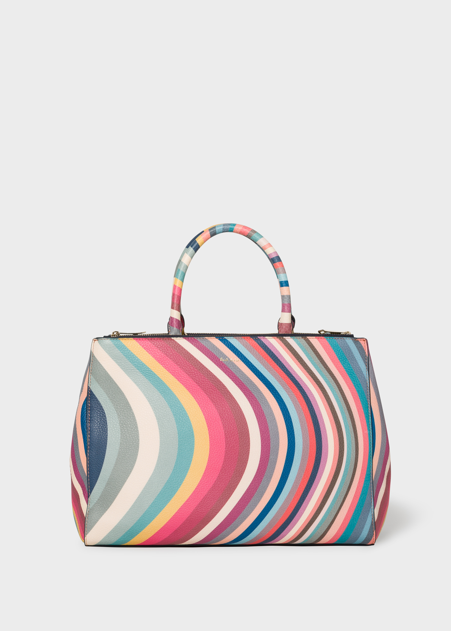 08a89dbef3 Women s  Spring Swirl  Print Leather Tote Bag - Paul Smith