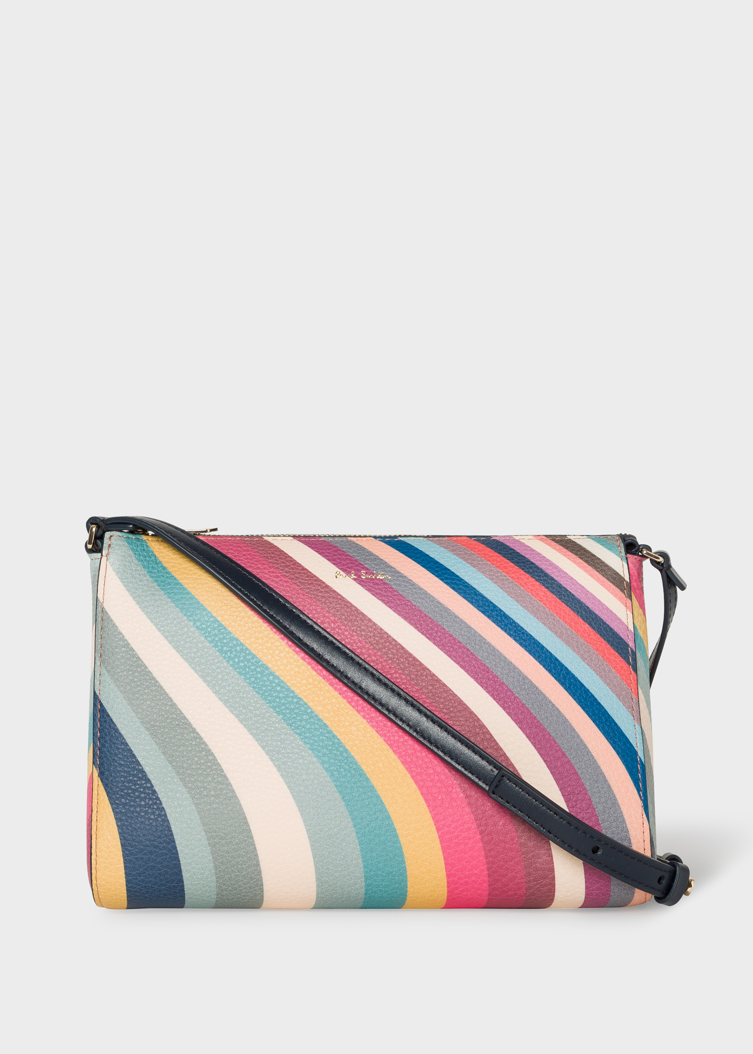 ca3da447 Women's 'Spring Swirl' Print Leather Cross-Body Bag