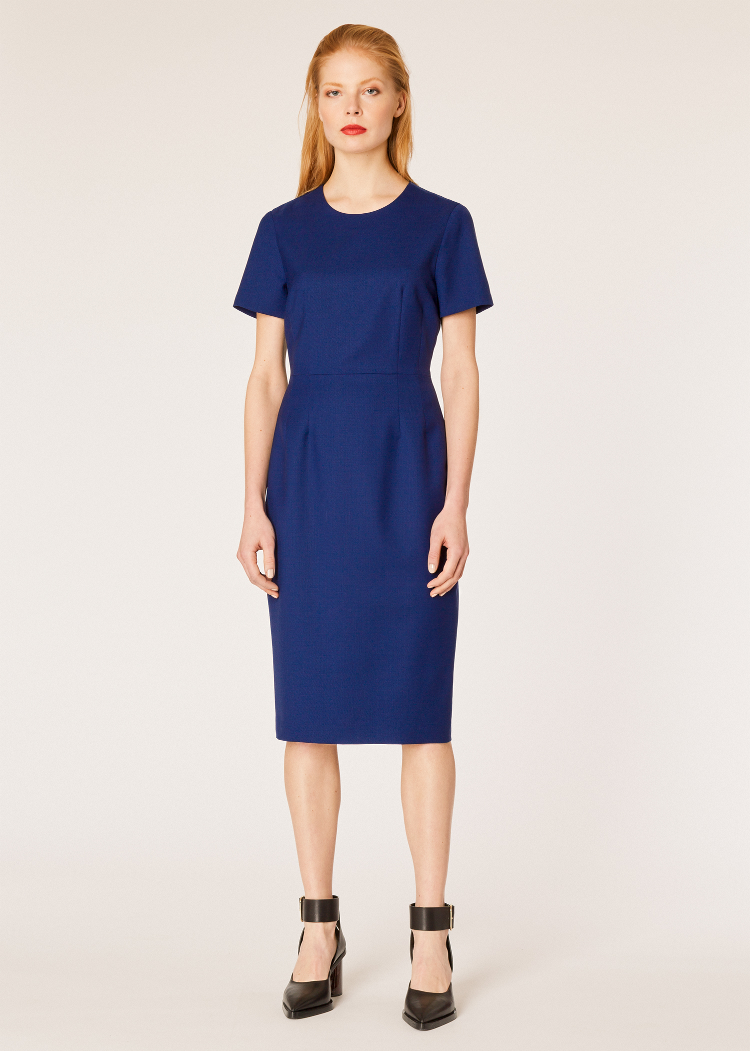 71d482f203e Vue mannequin face - Robe Femme Bleue  A Dress To Travel In  En Twill