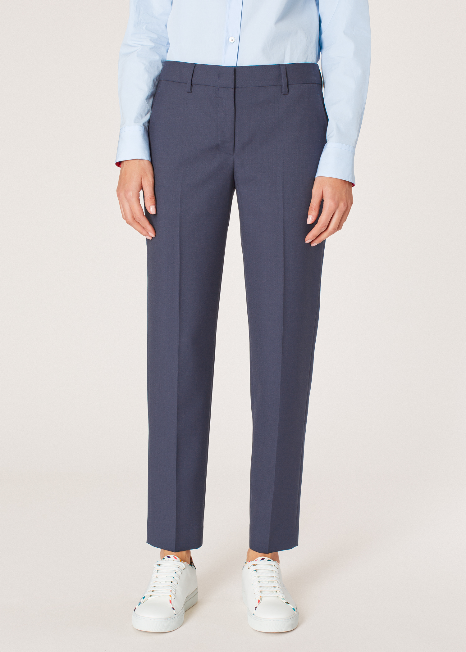 af49feae9ea7 Model front close up - A Suit To Travel In - Women's Classic-Fit Slate