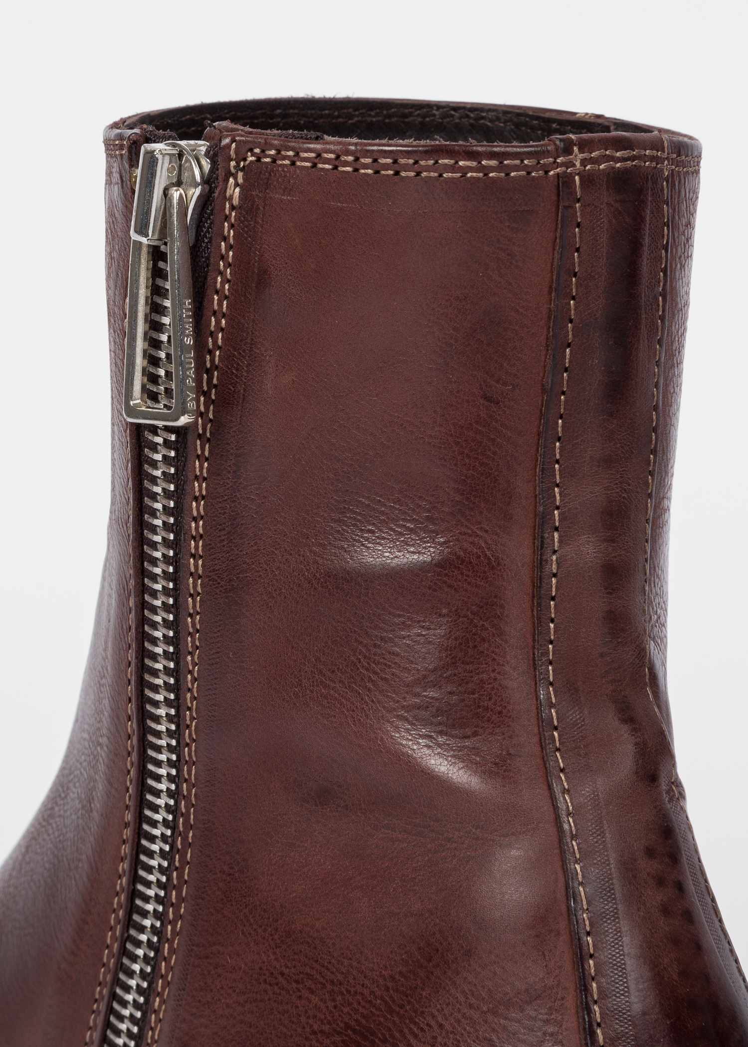 330550c8b3133 Detail view - Women s Dark Brown Leather  Adalia  Ankle Boots Paul Smith