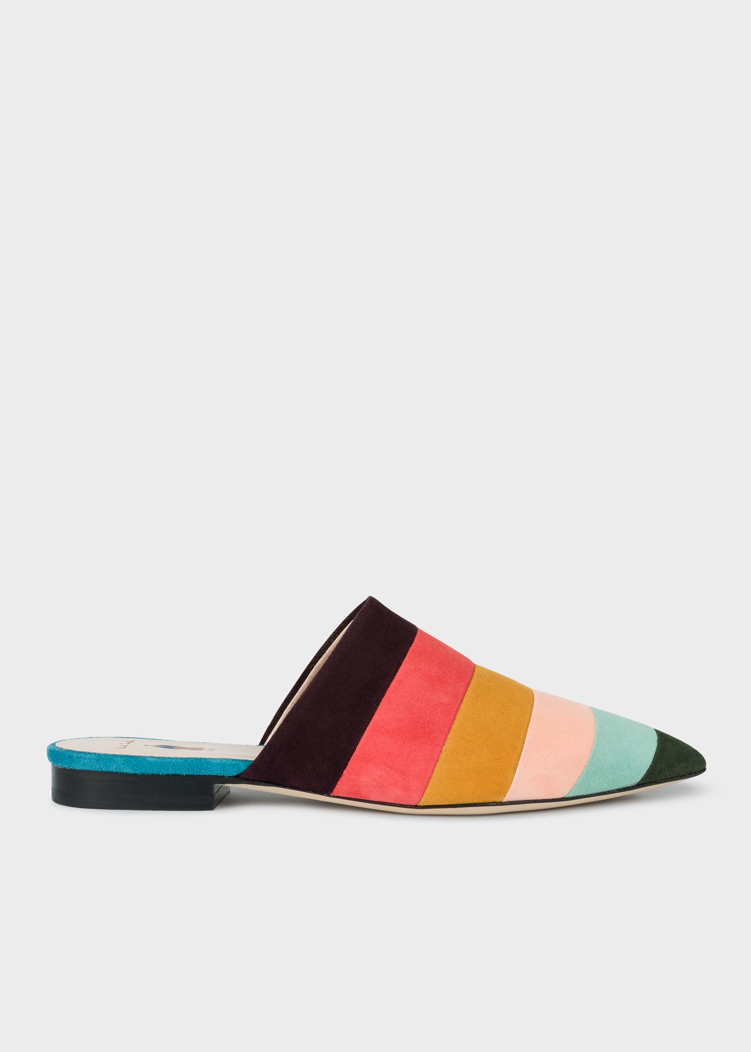 Mules Stripe Smith Multicolor Paul Ciprian Artist gbYf76yv