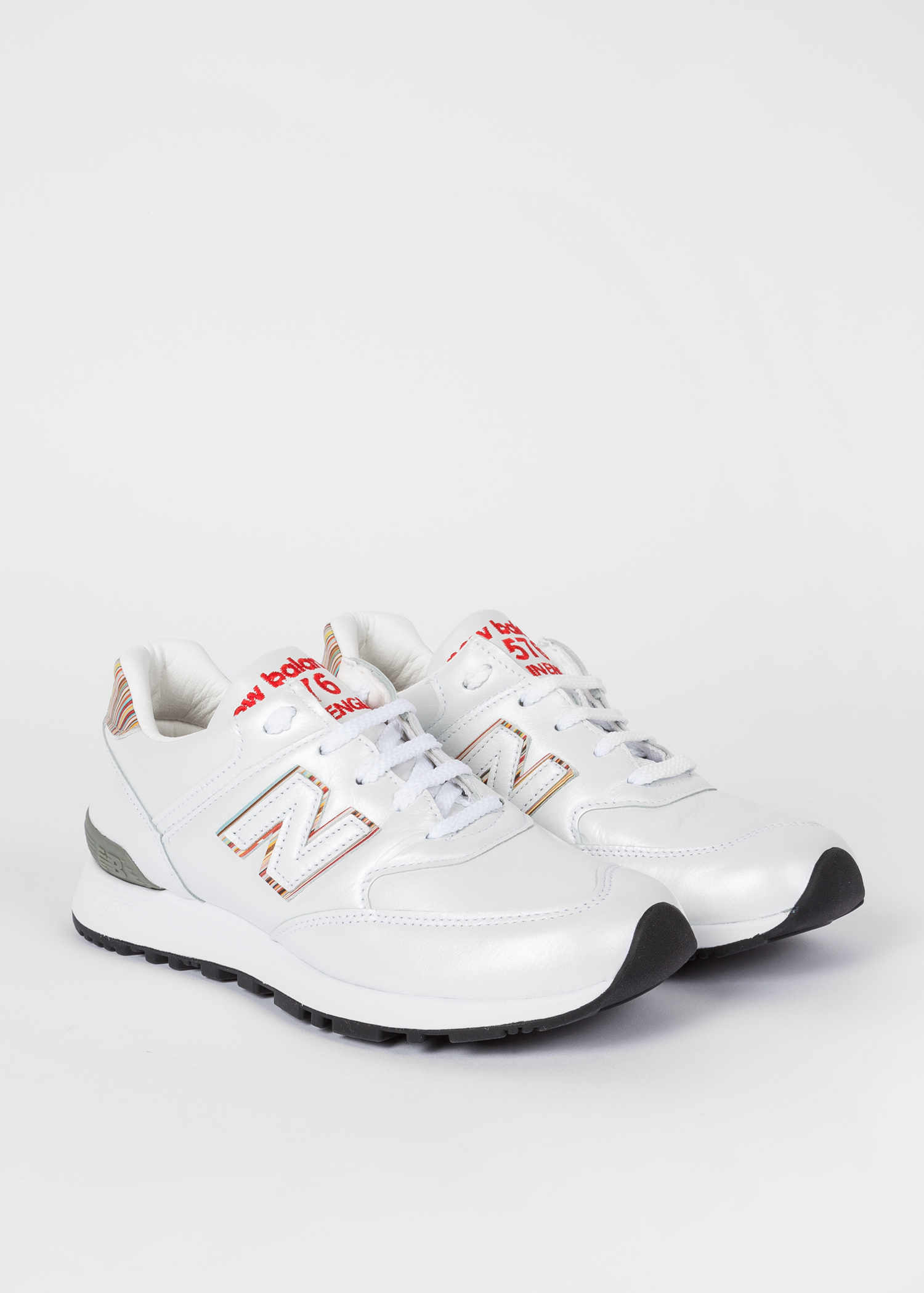 huge discount 1ebab fde6b 359a2 ac79e  norway new balance paul smith baskets 576 femme blanches en  cuir f535e ccc94