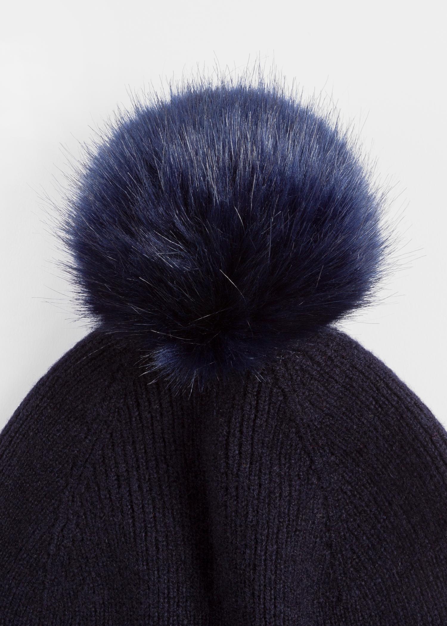 076086b48 Dark Grey Bobble Hat Mens