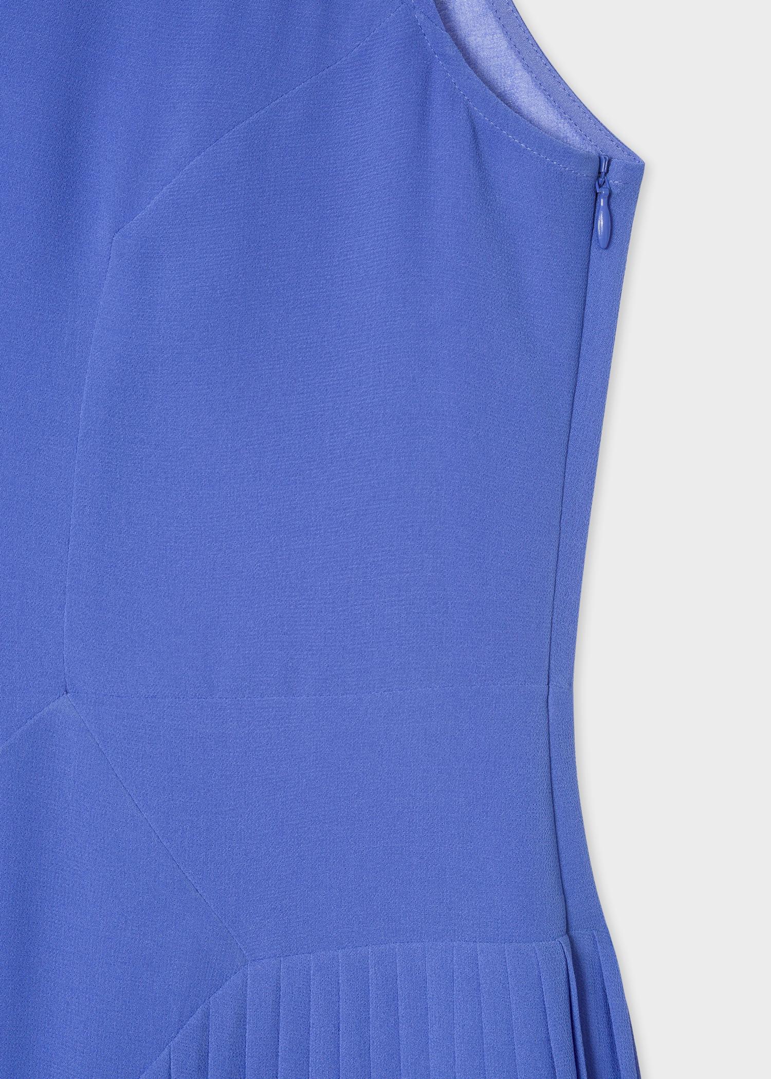 d31cbc34e5f Vue détaillée - Robe Midi Femme Lavande Plissée Paul Smith
