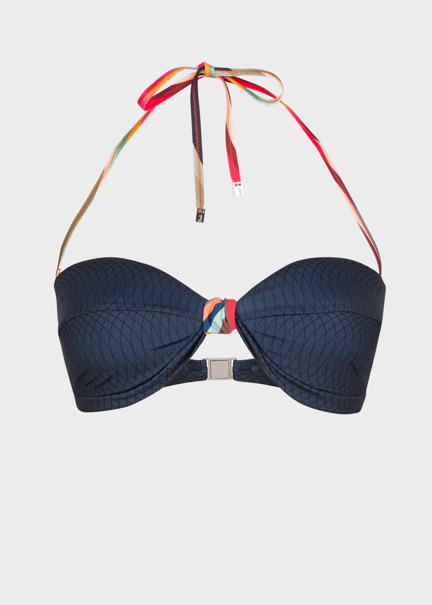 07961b09a9655 Women's Navy Bandeau Bikini Top Paul Smith - Paul Smith Asia