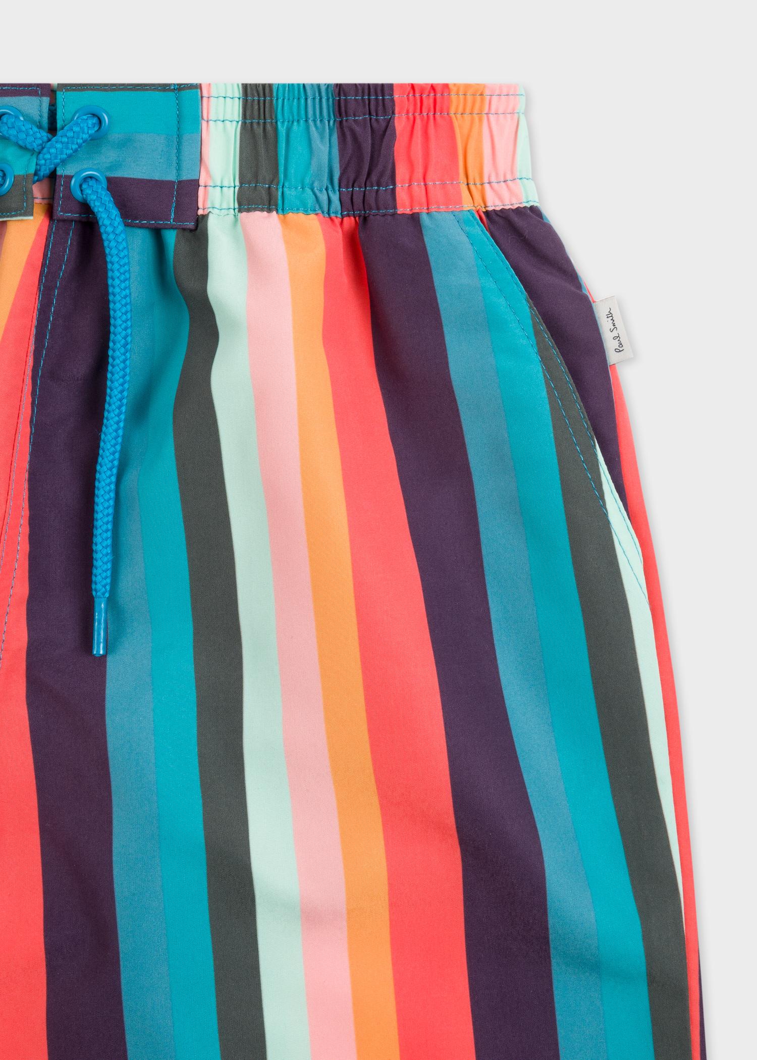 827db1364d Boys' 0-14 Years 'Artist Stripe' Swim Shorts - Paul Smith