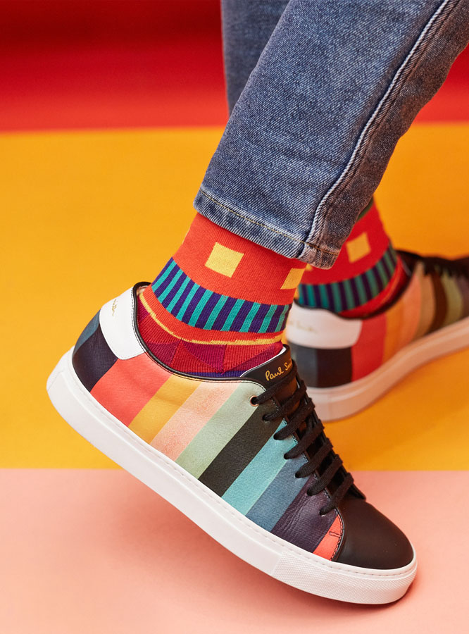 Paul Smith Share Your Socks Campaign