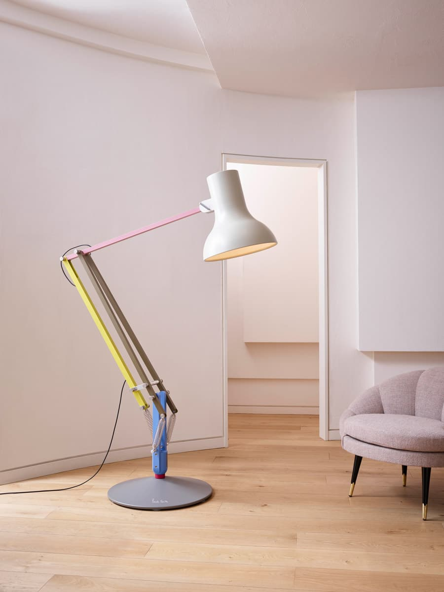 Anglepoise paul smith ss17 stories paul smith - Large anglepoise lamp ...