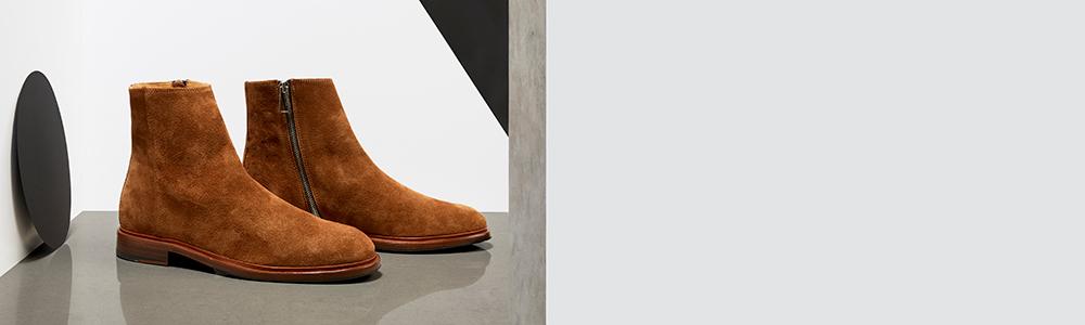 9309d9b949d2 Men's Designer Boots | Chelsea, Zip, & Chukka Boots - Paul Smith