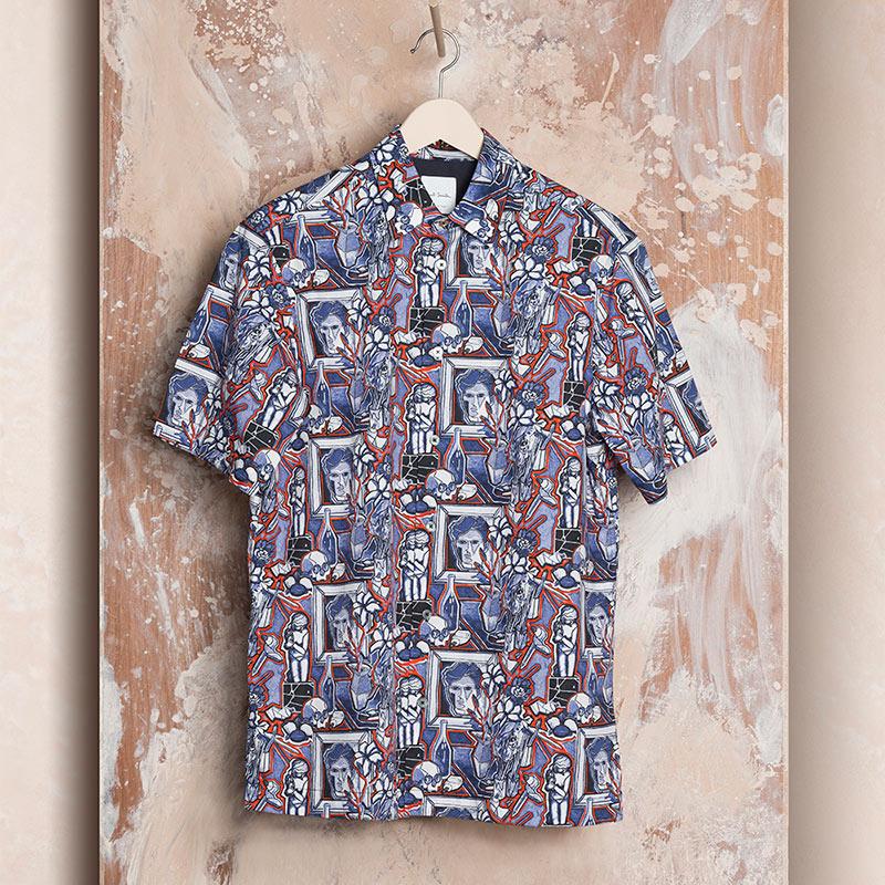 1b783b2233 Men's Designer Shirts | Long Sleeve & Short Sleeve Shirts - Paul Smith