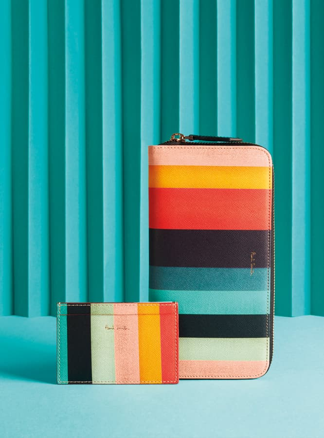 Paul Smith Classic Accessories With a Colourful Twist