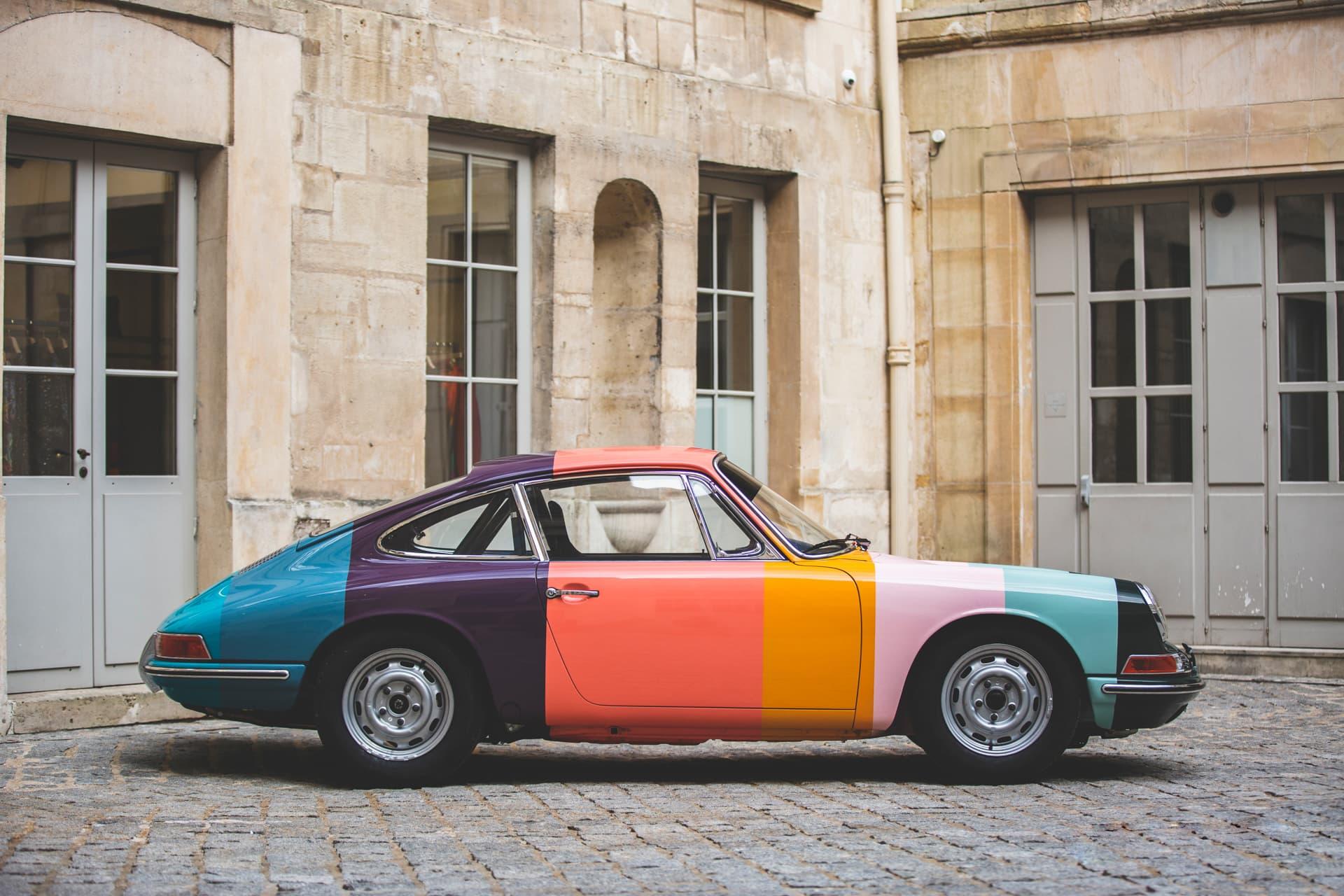 Artist Stripe Porsche Races at Le Mans Classic - Paul Smith