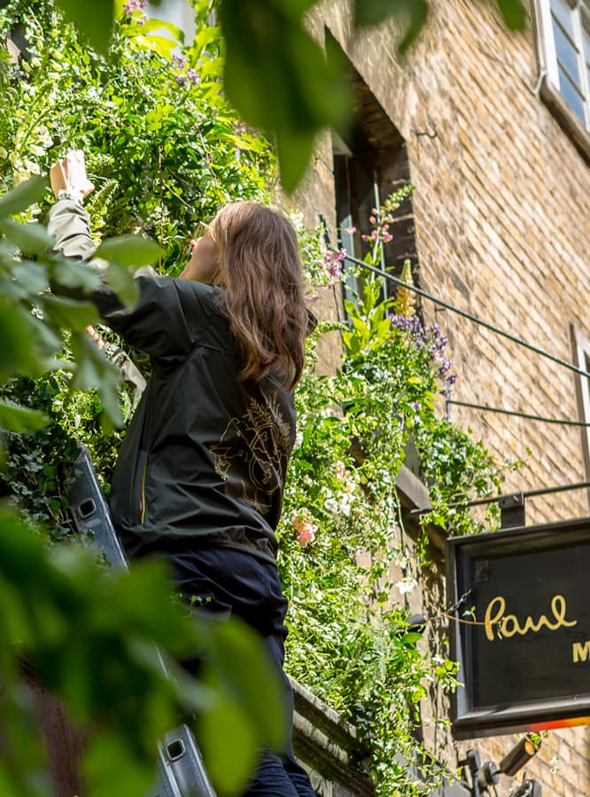 Petersham Nurseries Transform Paul Smith Floral Street