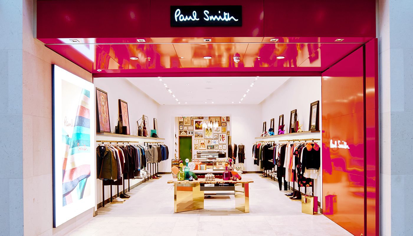 Shop Locator - Paul Smith